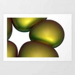 CropCirclesThirtyEight Art Print