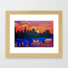 LoveNY Framed Art Print
