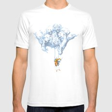 Avalanche Mens Fitted Tee White MEDIUM