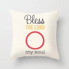 O My Soul Throw Pillow