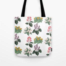Vintage Botanicals Tote Bag
