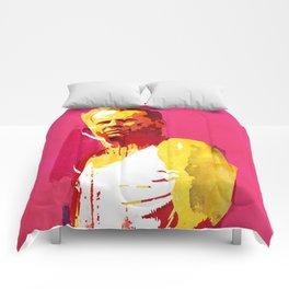 Live fast die hard Comforters