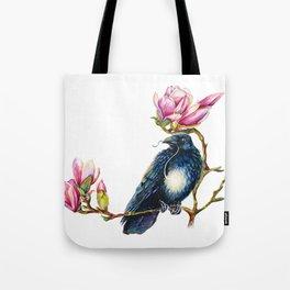 Raven and Magnolia Tote Bag