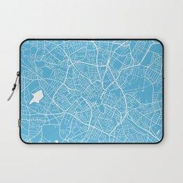Birmingham map blue Laptop Sleeve