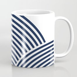 Rolling Hills in Delft Blue Coffee Mug