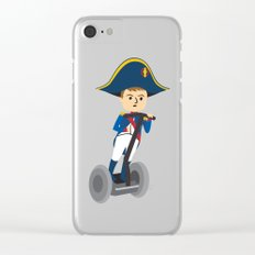 Napoleon Segways the Alps Clear iPhone Case