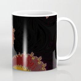Burning Embers - Fractal Art Coffee Mug