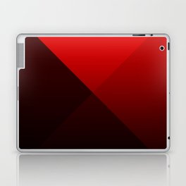 red triangle luminosity with cross fading Laptop & iPad Skin