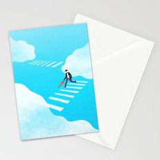 Walking on the sky Stationery Cards