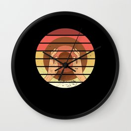 Pottery Wheel Retro Ceramics Sculpture Artist Gift Wall Clock