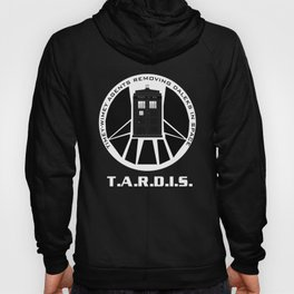 Agents of TARDIS black and white Agents of Shield, Doctor Who mash up Hoody