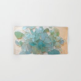 Ocean Hue Sea Glass Hand & Bath Towel