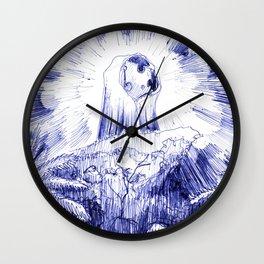 Cheesus of Nazareth Wall Clock