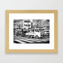 Japanese Joy Ride Framed Art Print