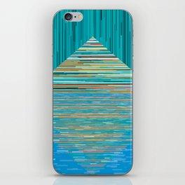 Mountain Lake Abstract iPhone Skin