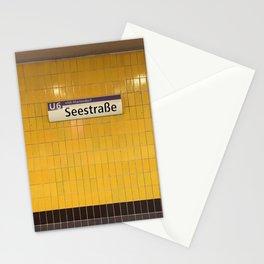 Berlin U-Bahn Memories - Seestraße Stationery Cards