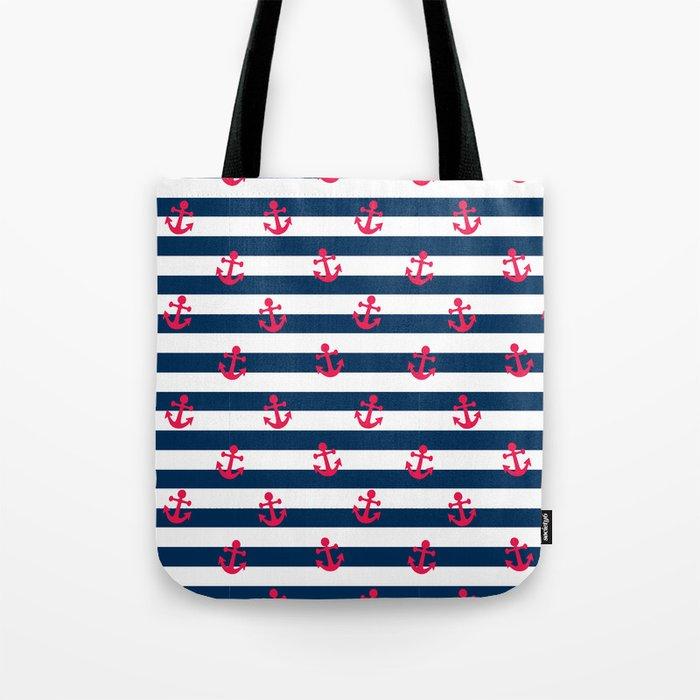 Sailor Stripes Tote Bag