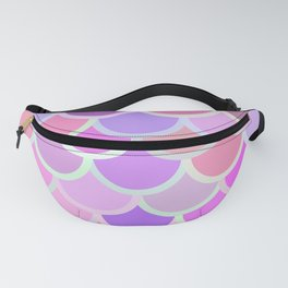 Purple Mermaid Fanny Pack
