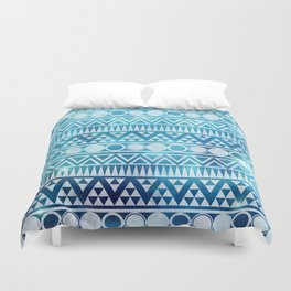 Tribal Ice Duvet Cover