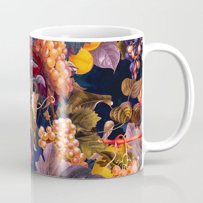 Vintage Fruit Pattern VI Coffee Mug