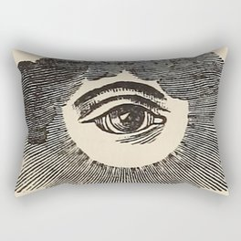 Vintage Magic Eye Rectangular Pillow