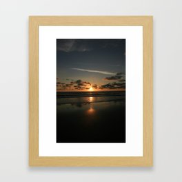 mystic sunset 1 Framed Art Print