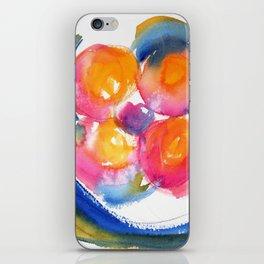 Peace Flower watercolor by CheyAnne Sexton iPhone Skin