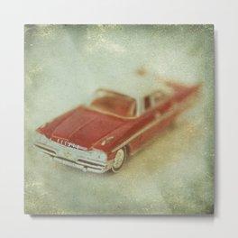 Vintage Red De Soto  Metal Print