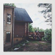 Log Cabin Canvas Print