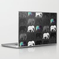 dumbo Laptop & iPad Skins featuring WHERES DUMBO by Nizhoni Creative Studio
