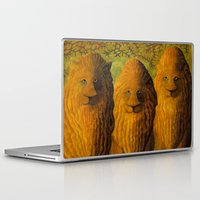 lions Laptop & iPad Skins featuring lions by giol's