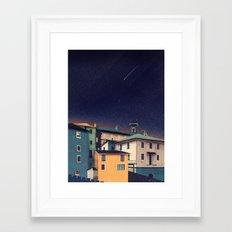 Castles at Night Framed Art Print