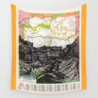 arizona Wall Tapestries featuring Arizona by Ursula Rodgers