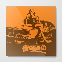 Hazzard & Girls Metal Print