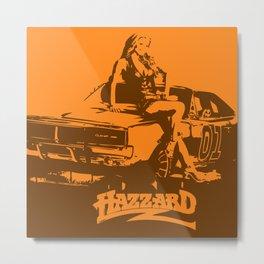 Hazzard & Girls Metal Print