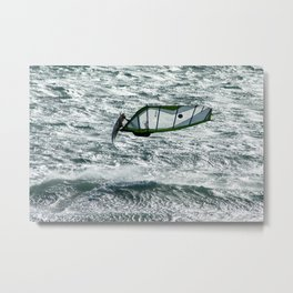 Windsurfing, Cottesloe Beach, Perth Metal Print