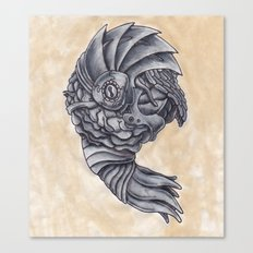 Neptune Octopus Canvas Print