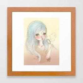 Blower Framed Art Print