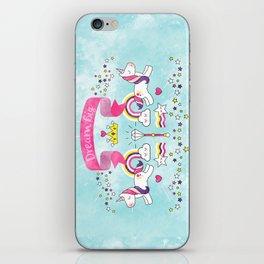 Dream Big Unicorn Carousel iPhone Skin