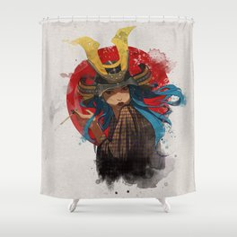Casul Kabuto Shower Curtain