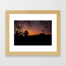 Natures Frame Framed Art Print
