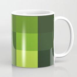 Green Yellow Blocks Coffee Mug