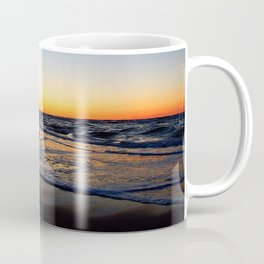 Feel the Love Sunset on the Sea Coffee Mug