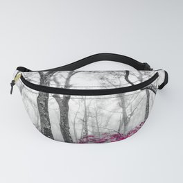 Princess Pink Forest Garden Fanny Pack