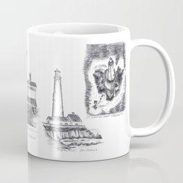 Little Lighthouses Coffee Mug