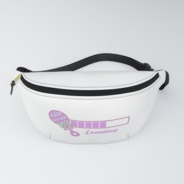 Baby Is Loading Girl Pregnancy Announcement Gift Fanny Pack