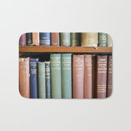 Library Wisdom Bath Mat