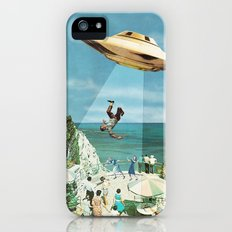 UFO Abduction iPhone (5, 5s) Slim Case
