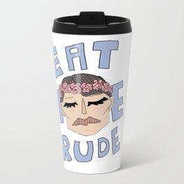 Eat The Rude Travel Mug