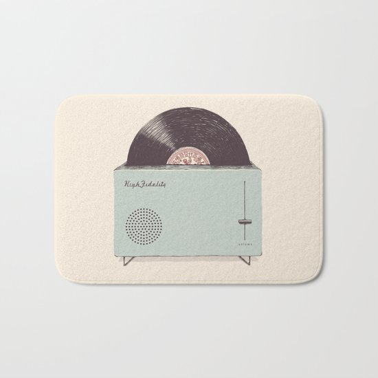 High Fidelity Toaster Bath Mat